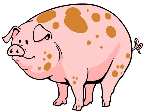 pig clip art funny clipart panda free clipart images rh pinterest co uk free clipart of cartoon pigs free clipart of cartoon pigs