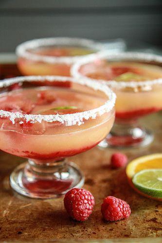 Orange Raspberry Margaritas