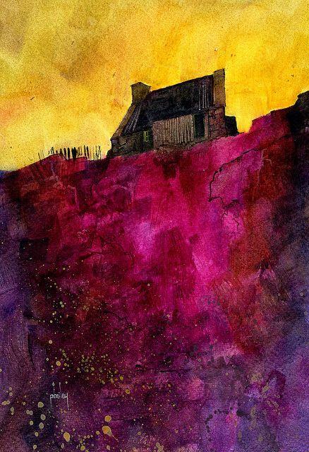 """Upon Magenta Ridge by Paul Steven Bailey- stunning!"""