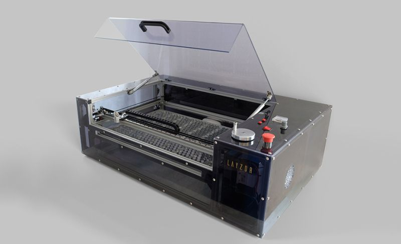 Expanding The K40 Laser Cutter With Aluminum Extrusion | K40
