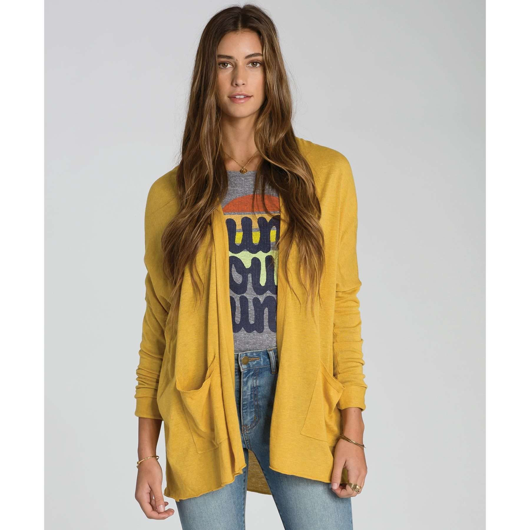Billabong Womens Cardigans Outside The Lines  f3fdad217