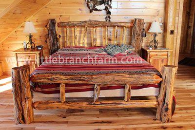 Rustic Log Beds Twisted Juniper Beds Log Bed Frame Rustic