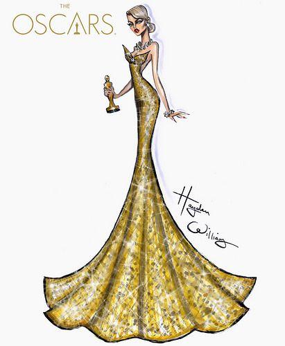#Oscars Golden Glam by Hayden Williams #Oscars2016   Flickr