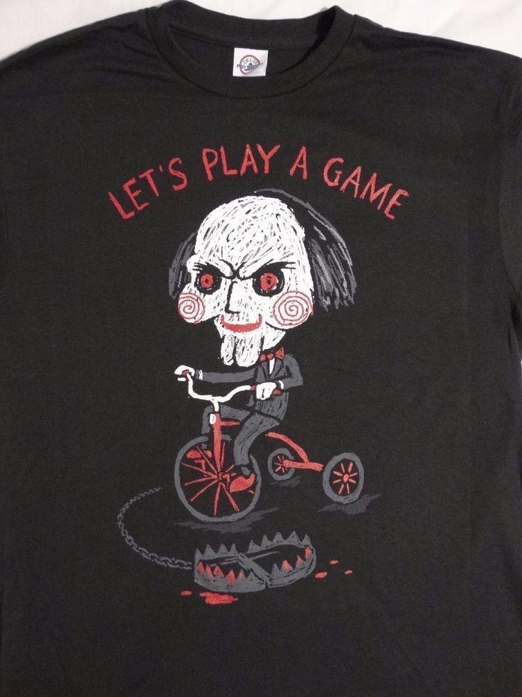 Saw Jigsaw Horreur torture Film Fan T Shirt