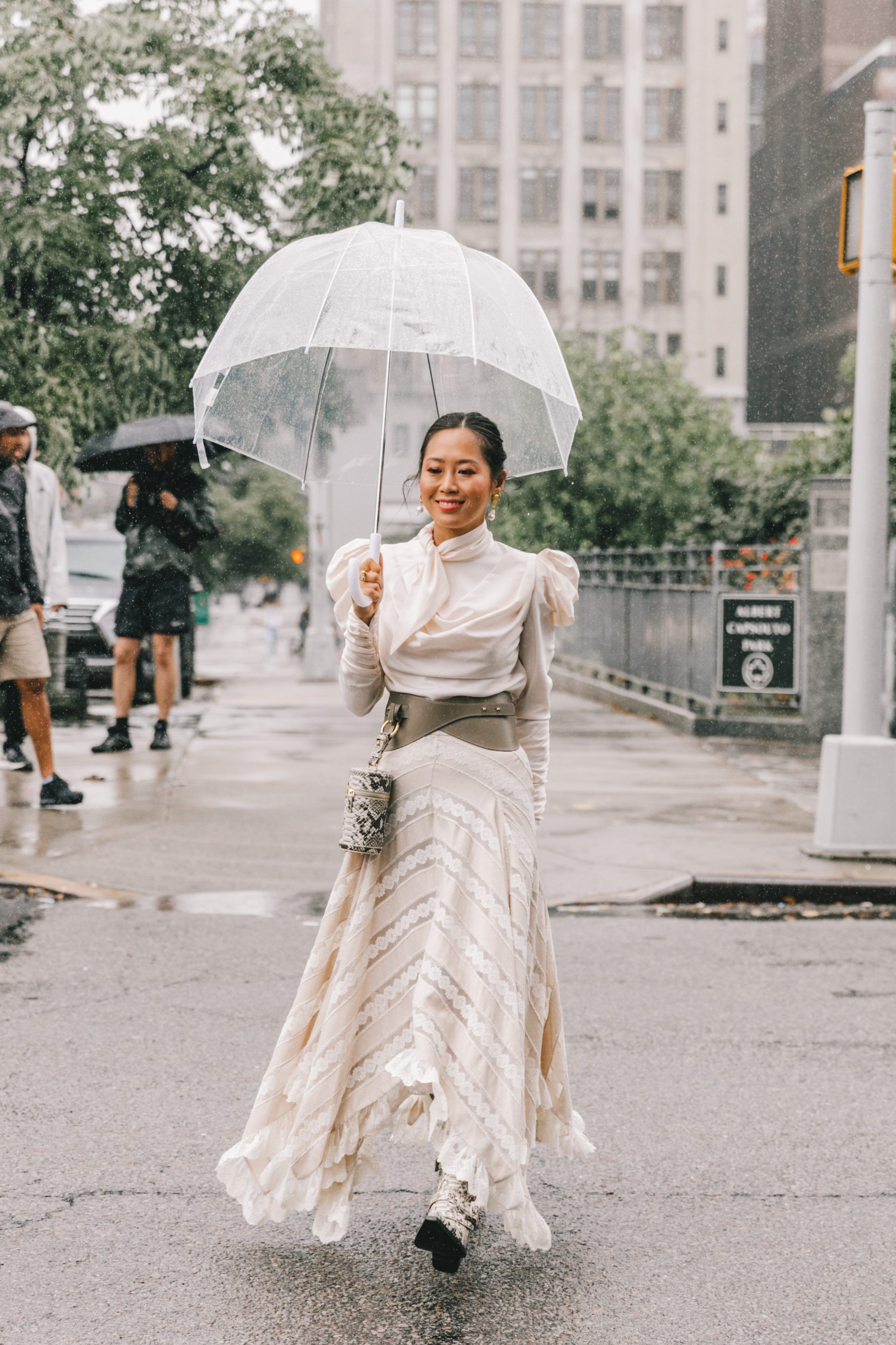 Spring Summer 7 Street Style from New York Fashion Week by