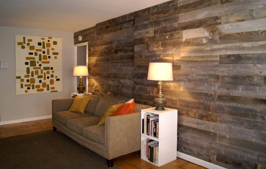 accent wall - wood on Pinterest  Wood Accent Walls, Accent Walls and ...