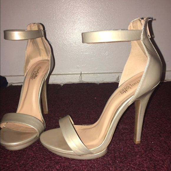 Champagne Color Heels