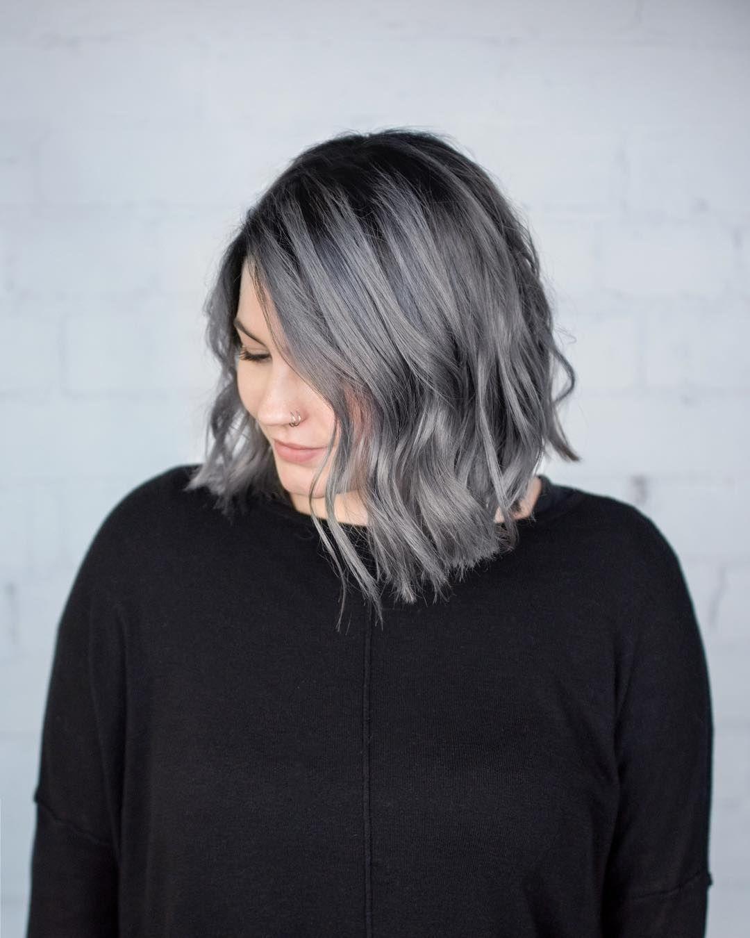 Steel Grey Aveda Hair Color By Aveda Artist Mallory Dejong