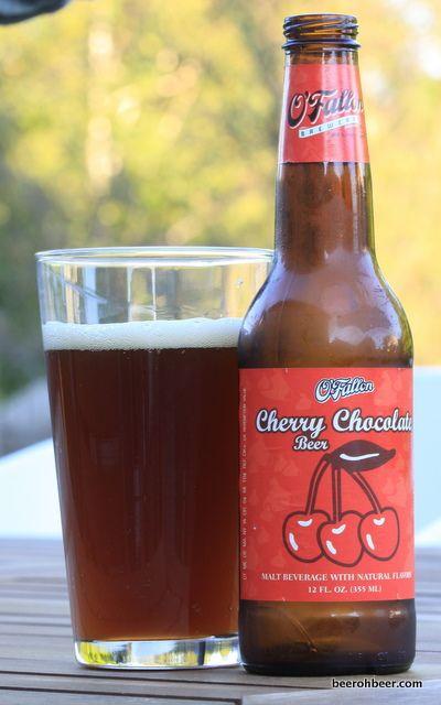 O'Fallon's Cherry Chocolate Beer... this one tastes like a cherry tootsie pop! So good!