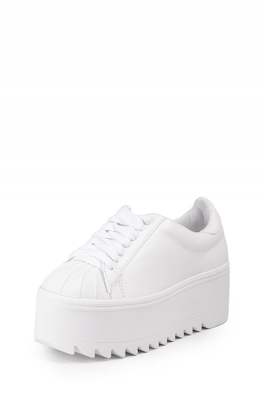 Jeffrey Campbell Shoes SYNERGY Shop All In White
