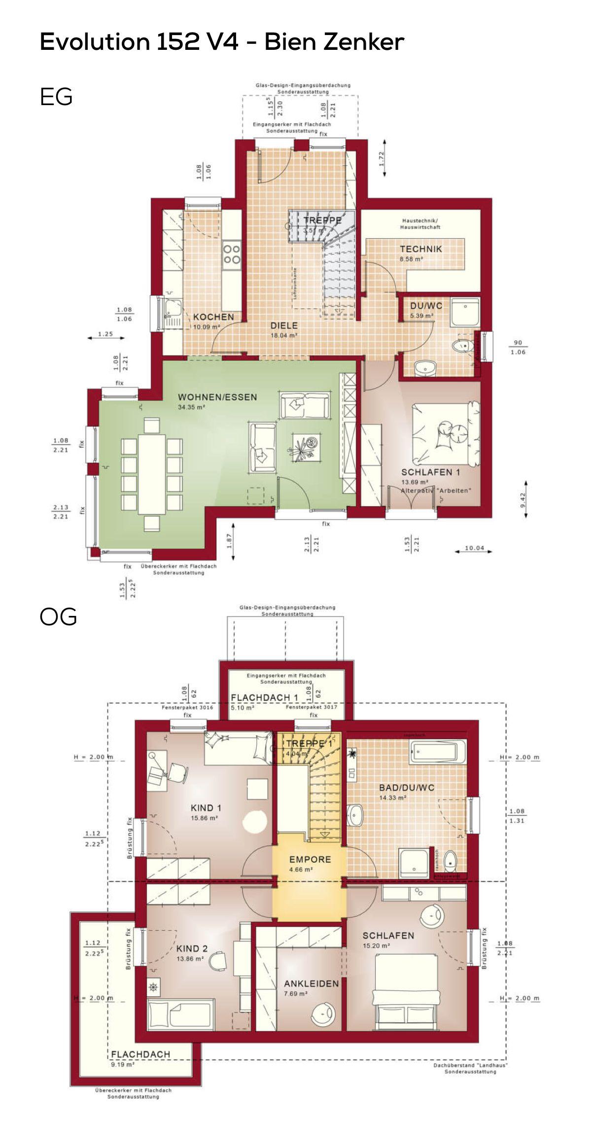 Erstaunlich Grundriss Einfamilienhaus 150 Qm Dekoration Von Mit Satteldach Architektur Im Modernen Stil -