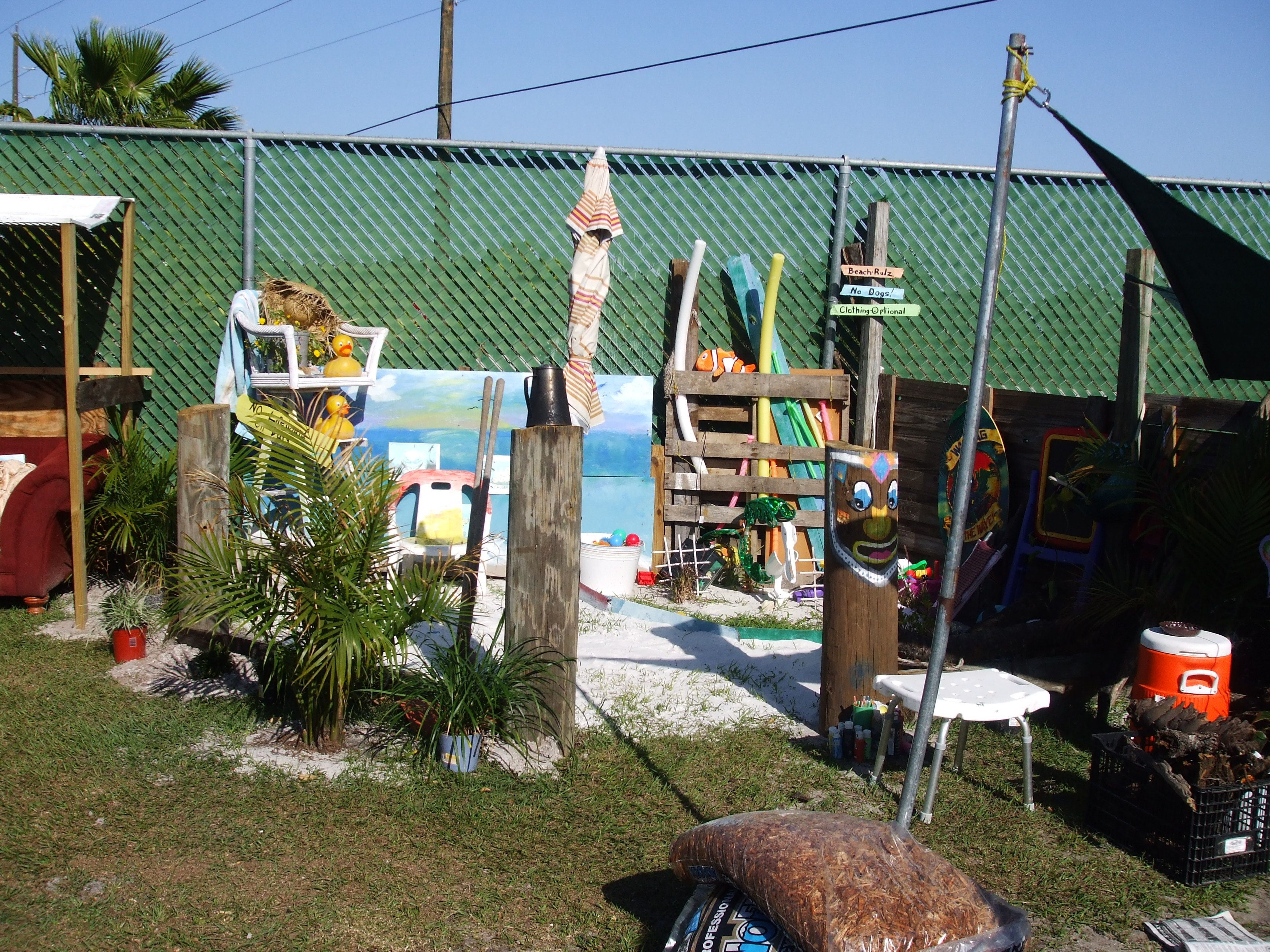almost finished with the backyard beach mary u0027s quite contrary