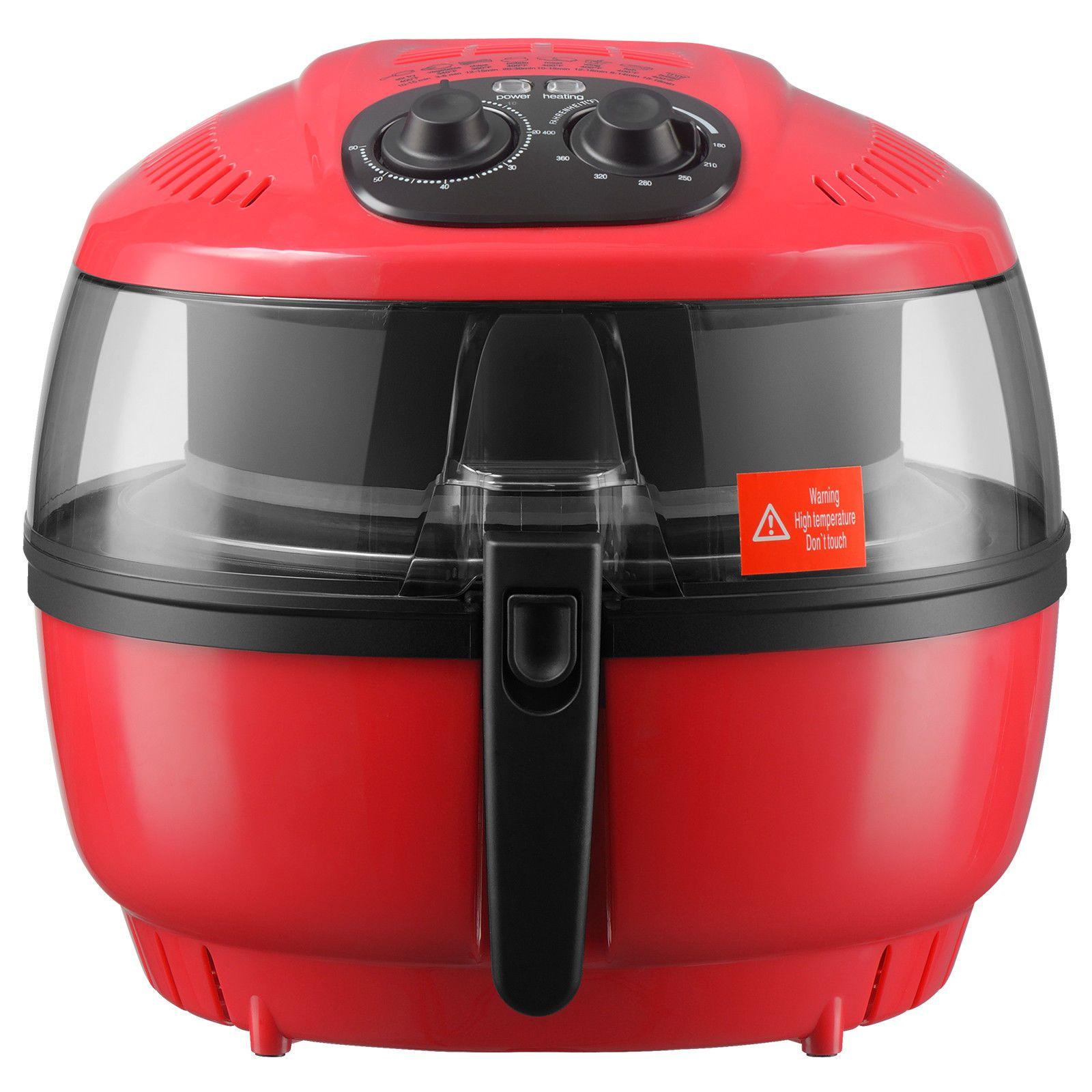 10QT Digital Electric Air Fryer OilLess Griller Calorie