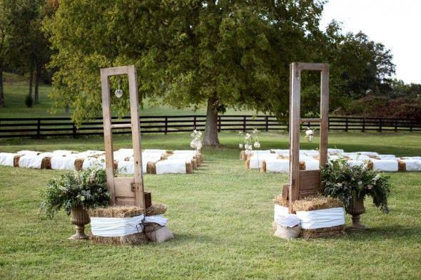 Franklin Tn Barn Wedding At Southall Eden Wedding Hay