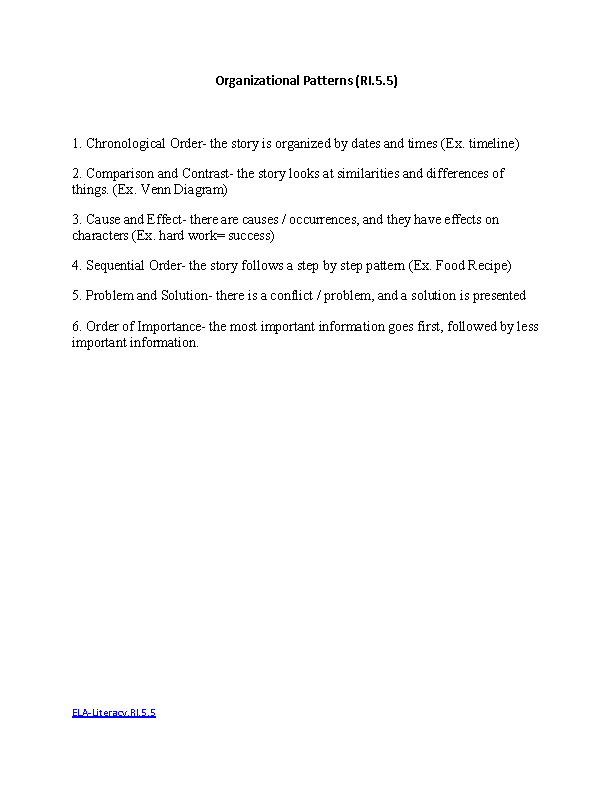 Quote from a Text ELALiteracyRI51 Reading Informational Text – Informational Text Worksheets