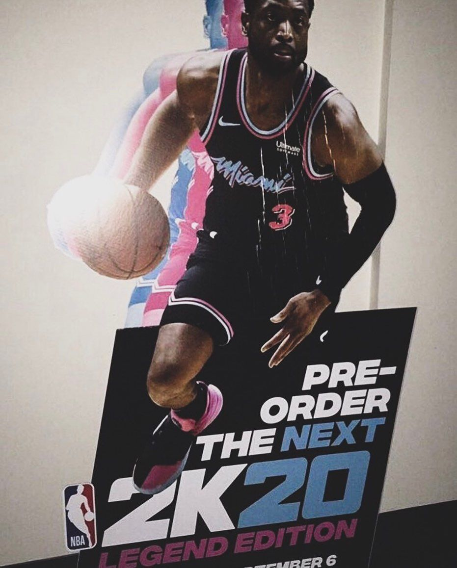 Breaking Dwyanewade Will Be On Nba2k S Nba 2k20 S Legend Cover I M Definitely Going To Buy The Legend Edition Are You Going To Pu Nba Wnba Dwyane Wade