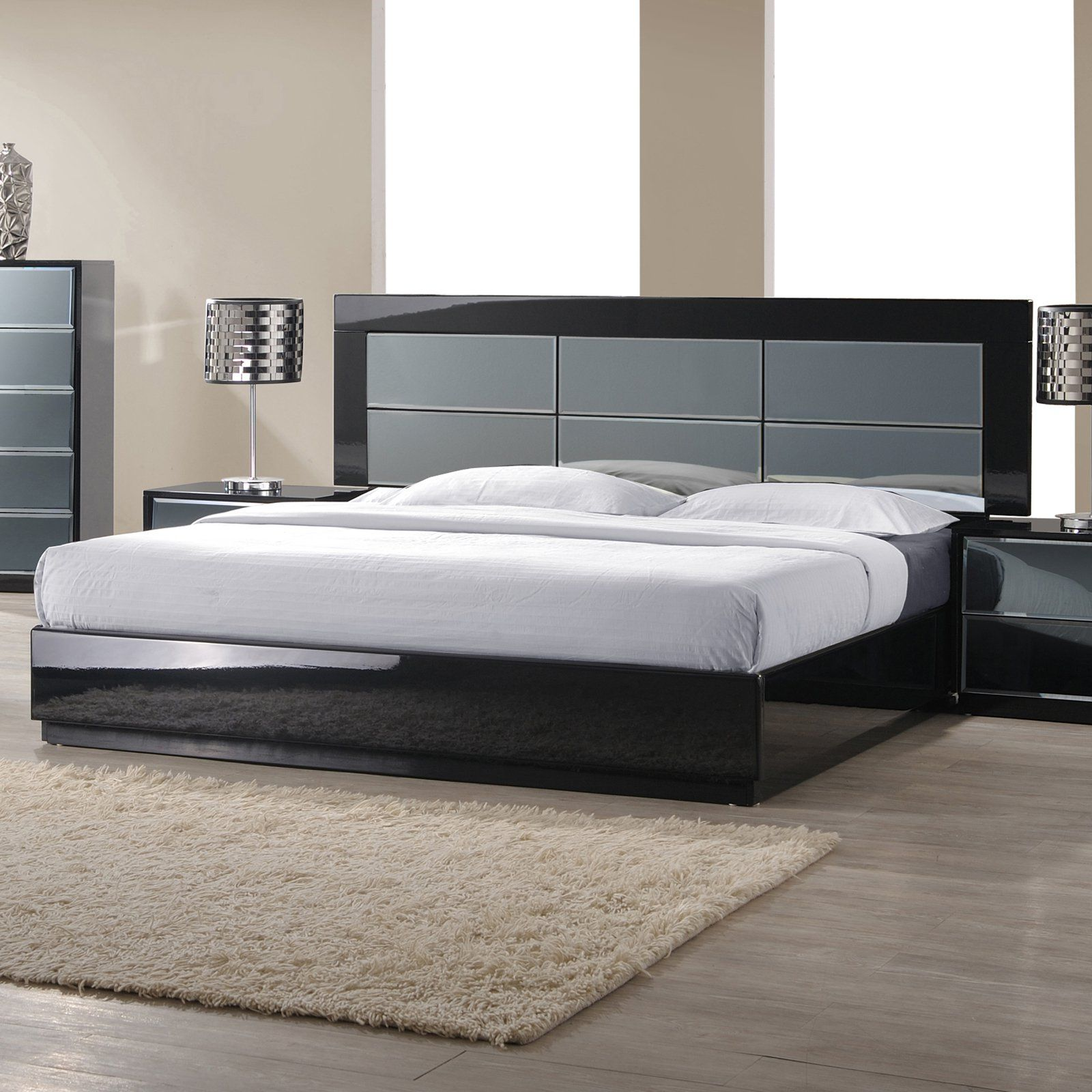 Chintaly Venice Platform Bed CTY1528 Chintaly