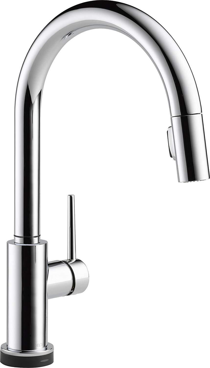 Delta Faucet Trinsic Single Handle Touch Kitchen Sink Faucet With