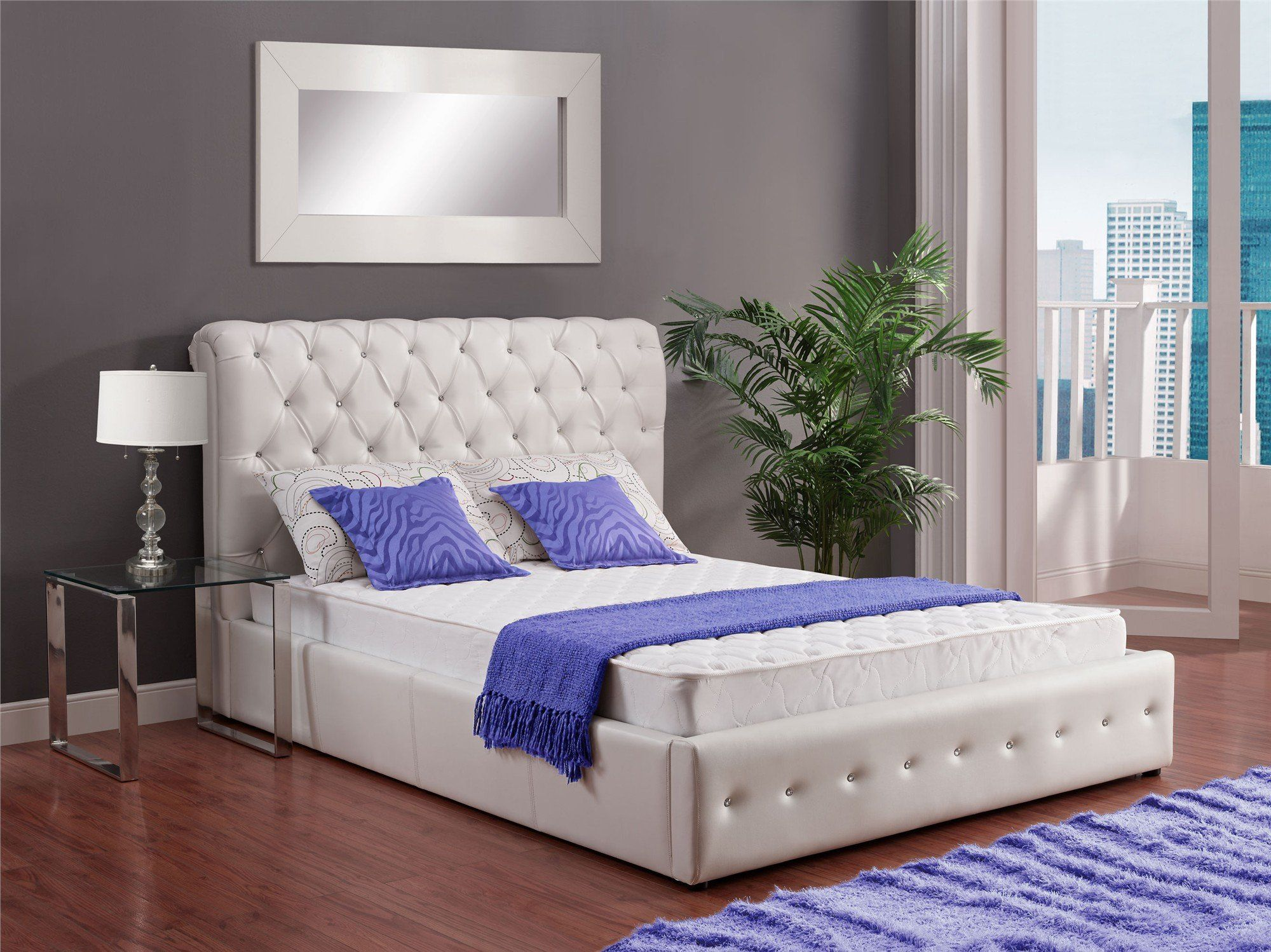Signature Sleep Essential 6 Inch Coil Mattress made with