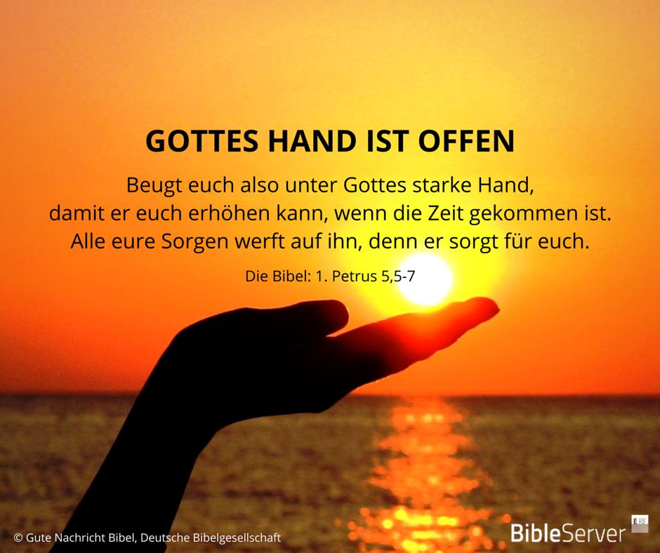 Bibel Zitate  C B Gottes Hand Ist Offen Lies Den Bibelvers Im Kontext Auf Bibleserver Nach