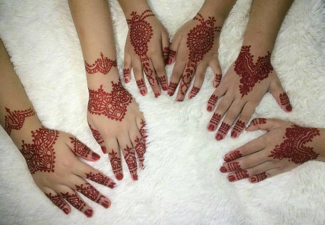 Tattoo Mehndi Tangan : Ekinainhenna inai tunang tangan sahaja rm