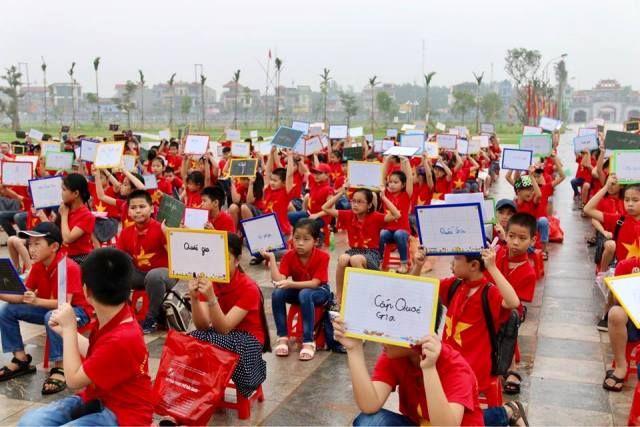 Áo cờ đỏ sao vàng trường tiểu học lê lợi - Hình 3