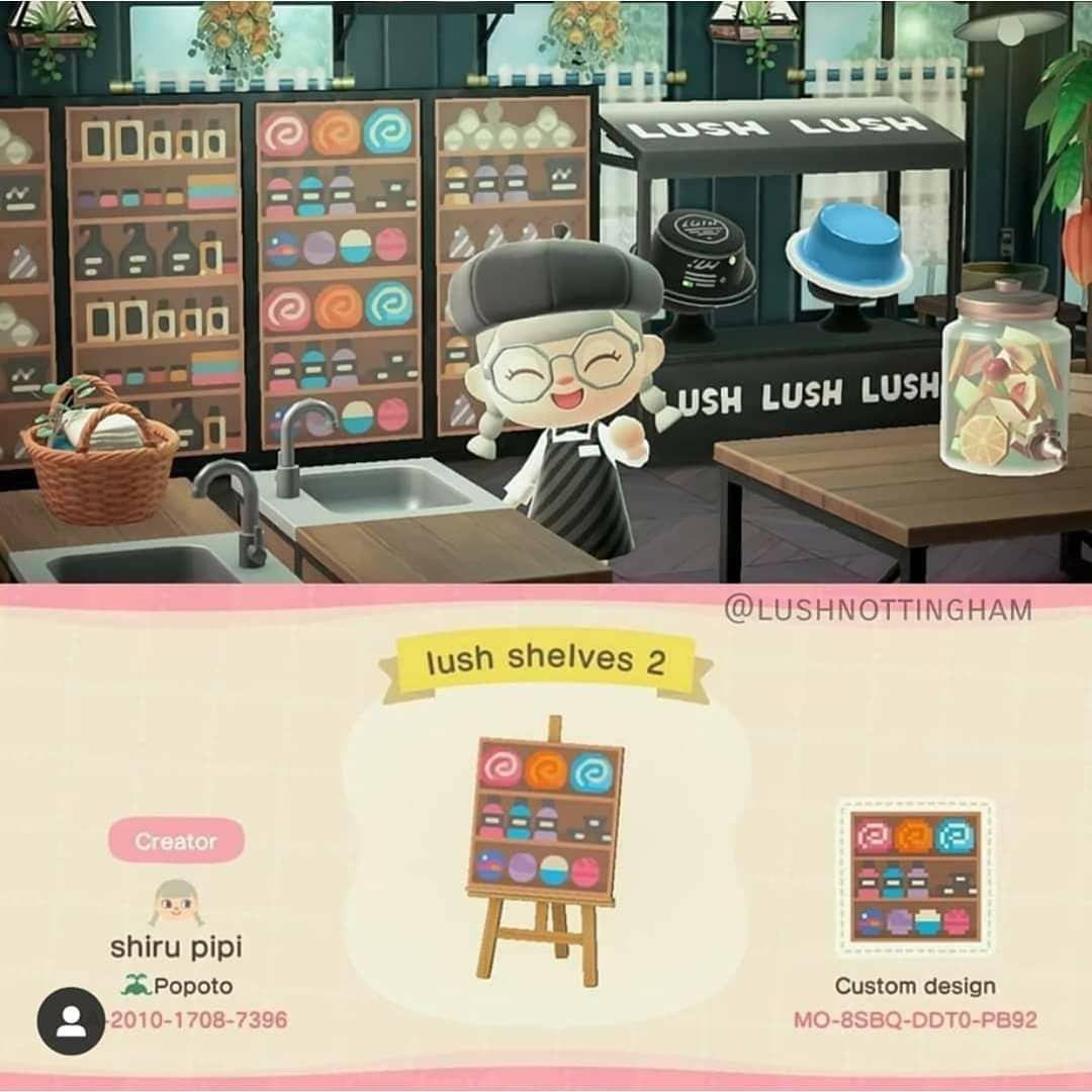 Pin on Animal Crossing Fashion & Design on Ironwood Dresser Animal Crossing  id=83848