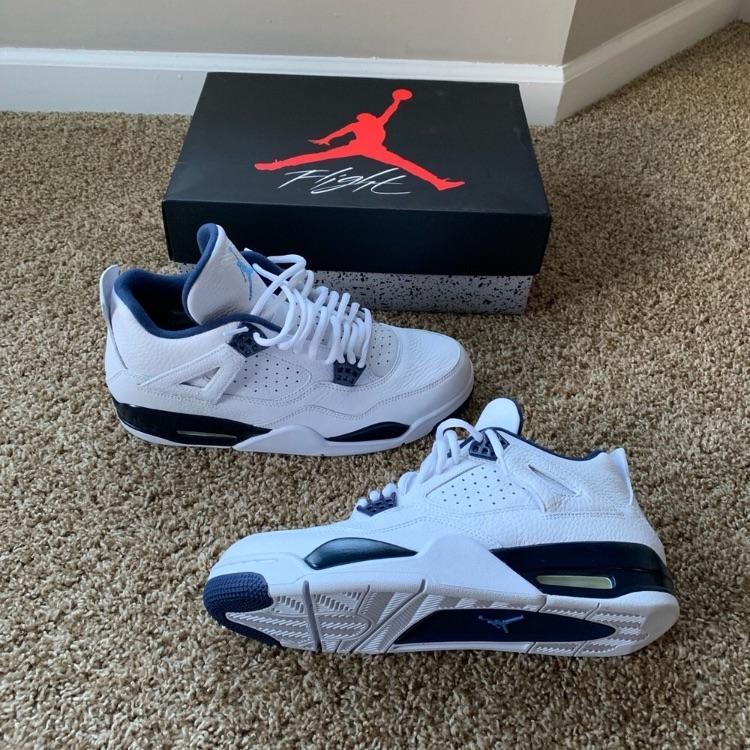 """Air Jordan 4 retro Ls """"Legend Blue"""