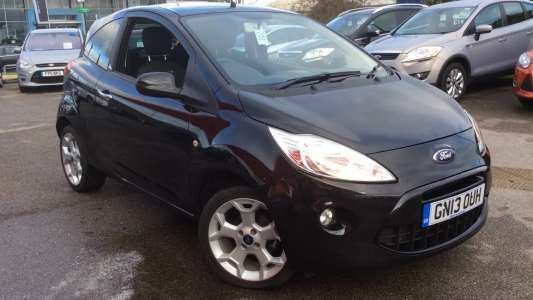 Find used Ford KA cars for sale throughout the UK. Find a great second hand Ford KA deal today from a RAC Cars local approved dealer! & Used 2013 (13 reg) Panther Black Ford KA 1.2 Metal 3dr (Start Stop ... markmcfarlin.com
