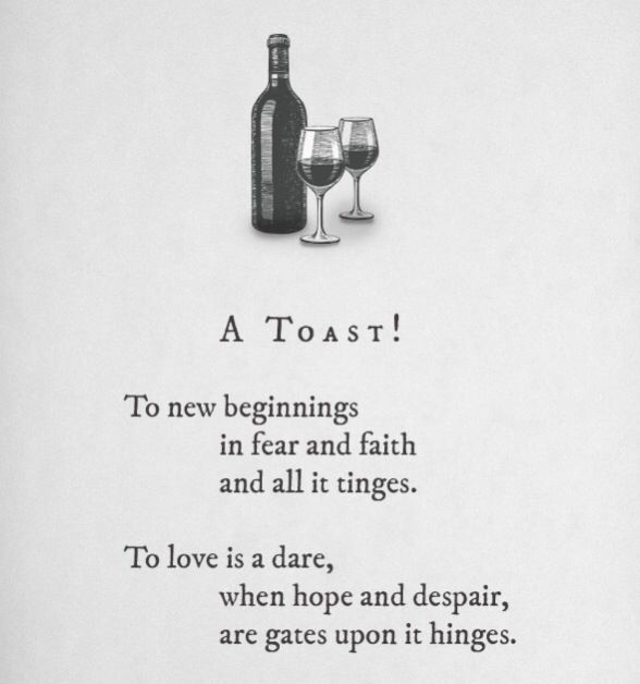 make a toast : 2014 : new life : new adventure : quotes and sayings ...
