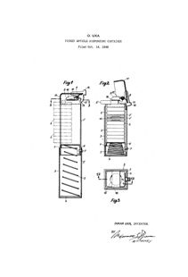 Patent First PEZ Dispenser 1940's Art Print