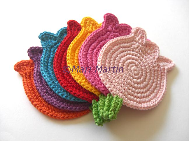 Crochet Coasters Mari Martin   Patrones de ganchillo   Pinterest ...