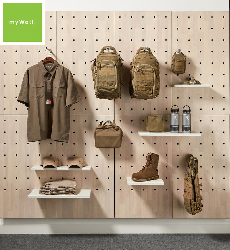 mywall thinkterior com in 2020 retail wall displays on walls insulated coveralls on sale id=79887