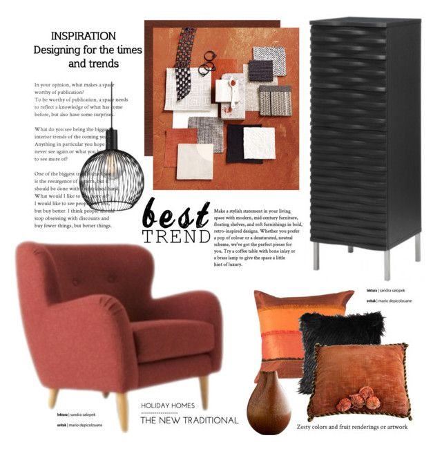 Brown  Black Living by cruzeirodotejo on Polyvore featuring