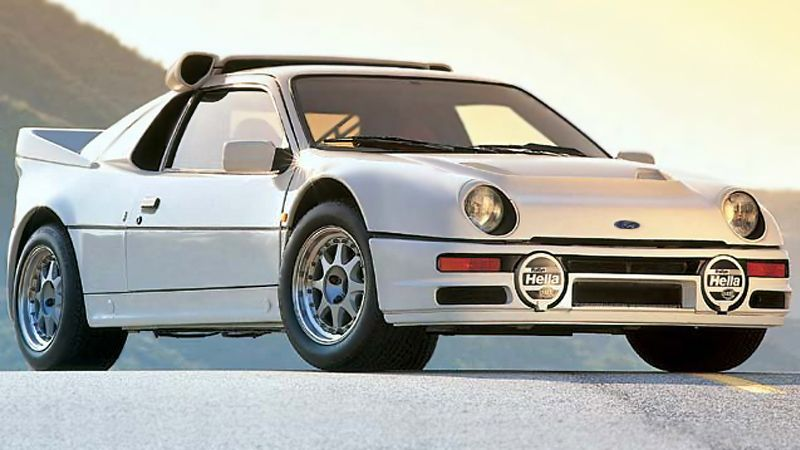 The 1984 86 Ford Rs200 Car Ford Ford Rs Car