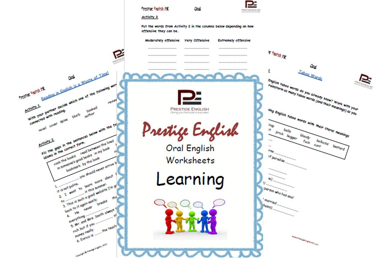 Oral English Workbook Learning English Learning And Worksheets