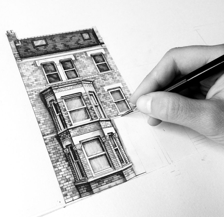 Design is in the details my photorealistic drawings of for Printing architectural drawings