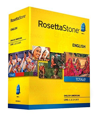 Rosetta Stone English (American) Level 1-5 Set – includes 12-month Mobile/Studio/Gaming Access