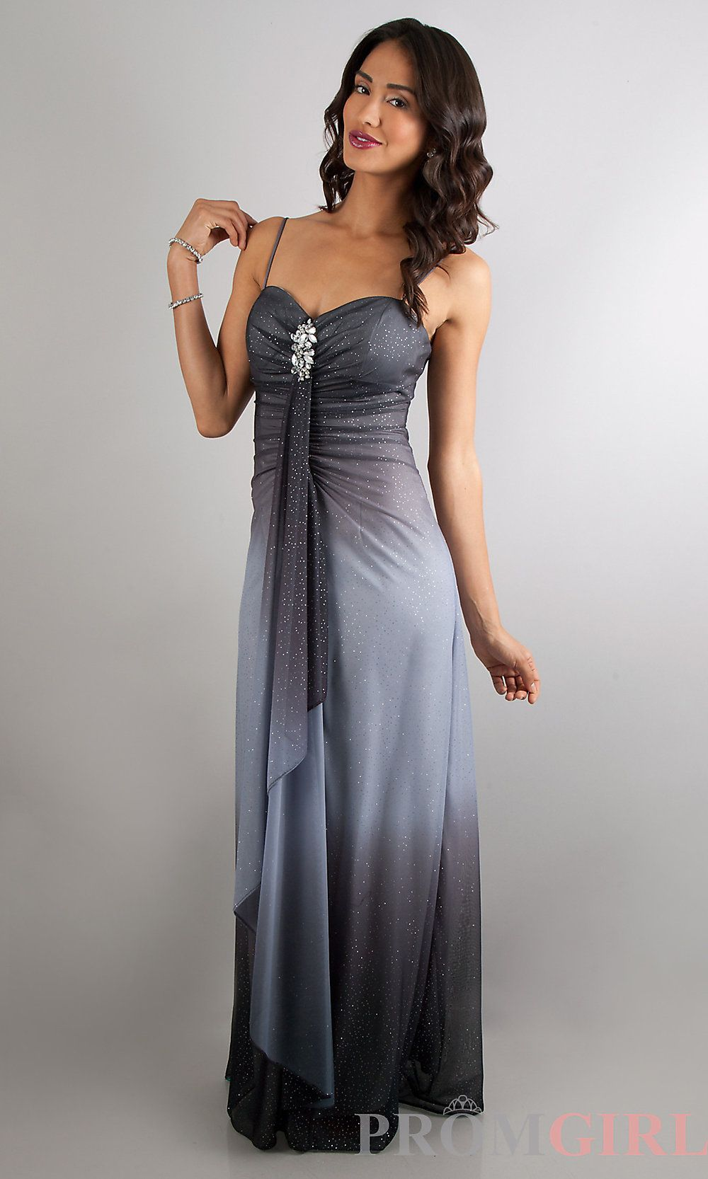 Prom dress ombre clothing
