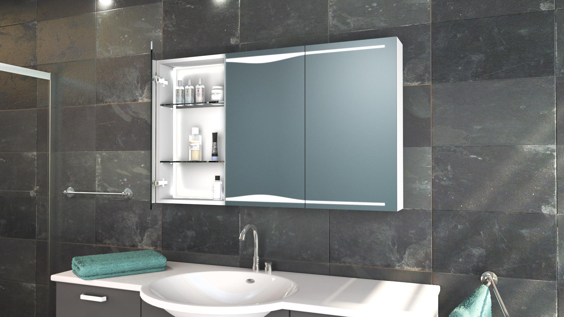Der Spiegelschrank Ava Vereint Attraktives Und Funktionales Design