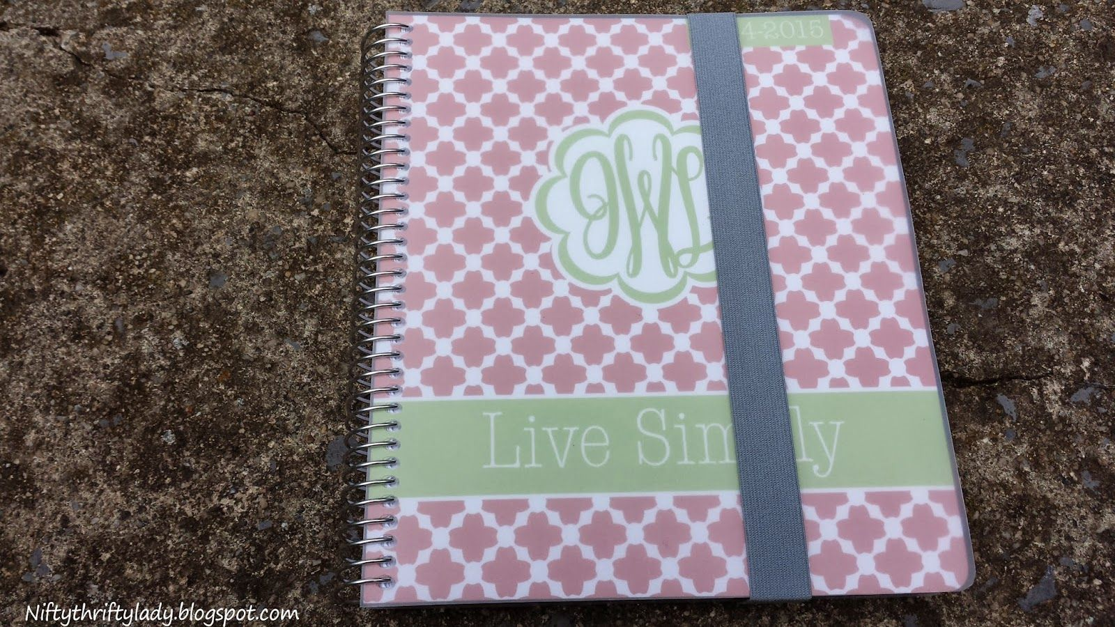 The Nifty Thrifty Lady: Plum Paper Planner Family Planner Review and Coupon Code