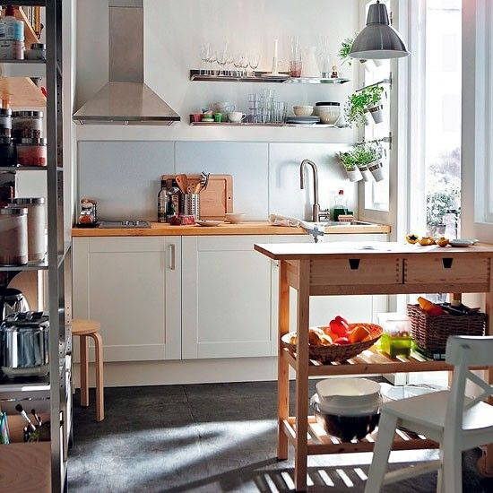 Compact Shaker Kitchen From Ikea | Shaker Style Kitchen Units   10 Of The  Best