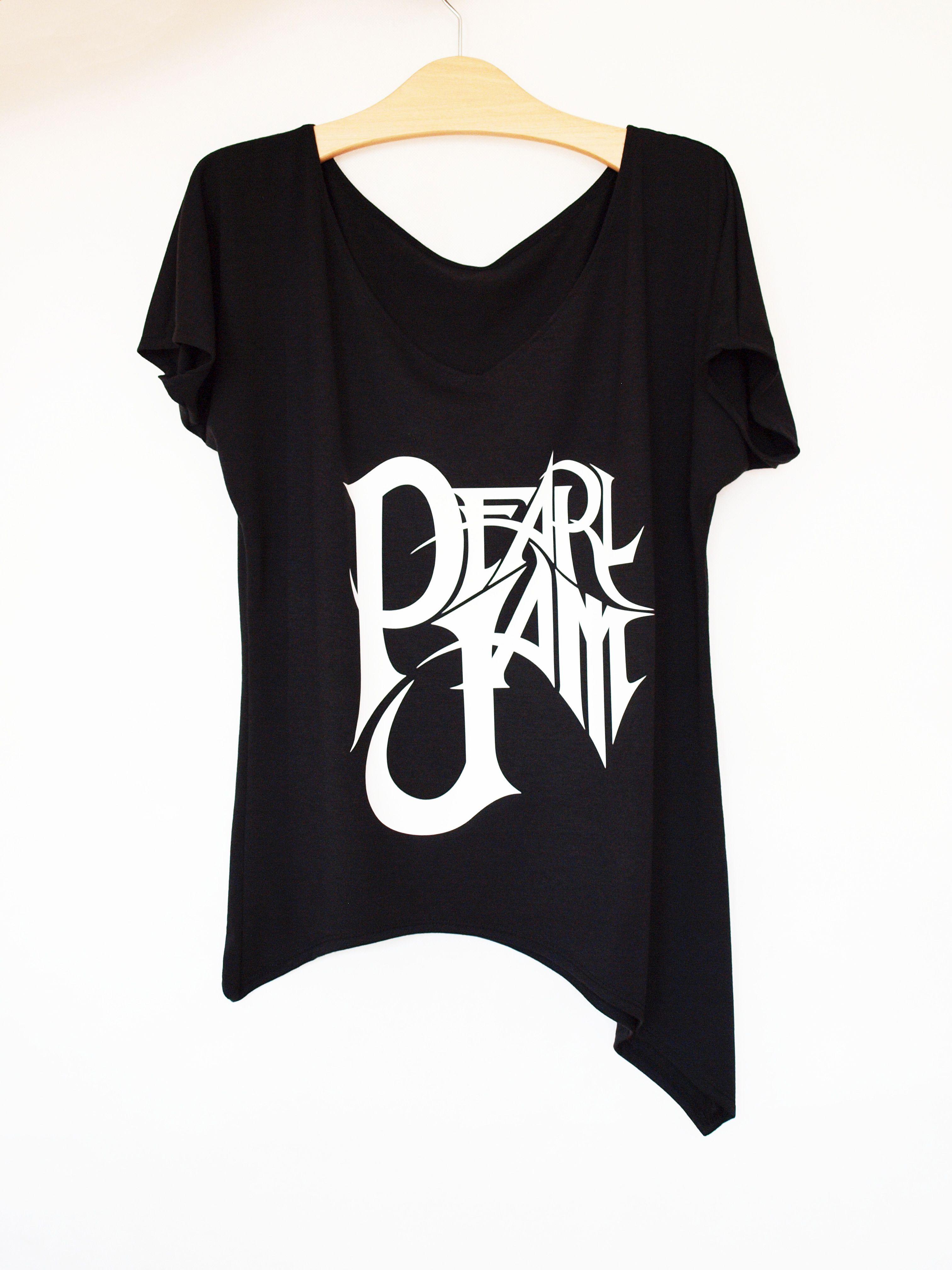 d6fdec645ca Pearl Jam t-shirt in black by rockshirt.etsy.com