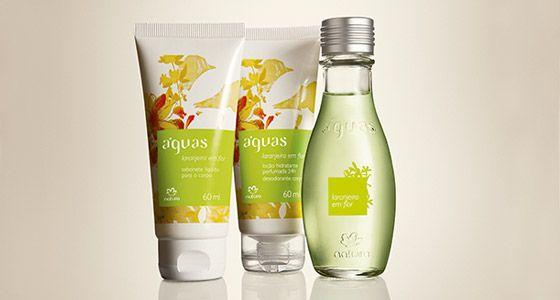 Presente Aguas Laranjeira Em Flor Locao Hidratante Desodorante