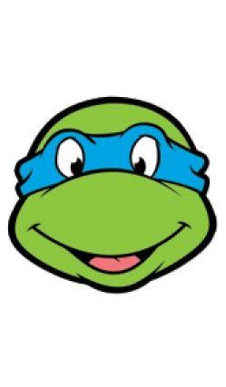 Masque en carton Leonardo , Tortue Ninja™