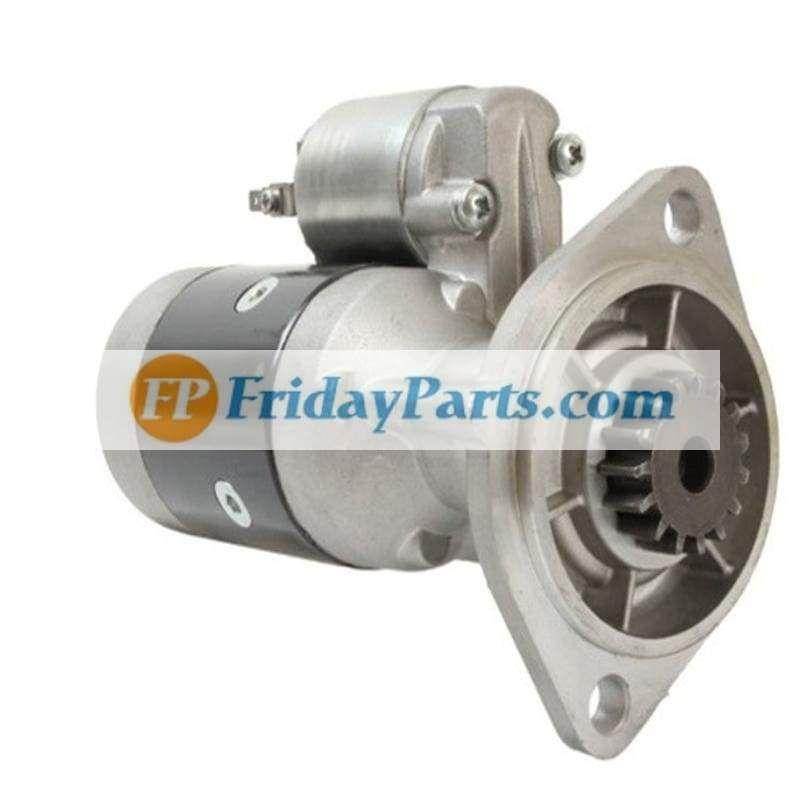 Starter Motor Ym121254 77011 Ym121254 77012 Ym121254 77010 Komatsu 3d84 3d84n Starter Motor Forklift Motor