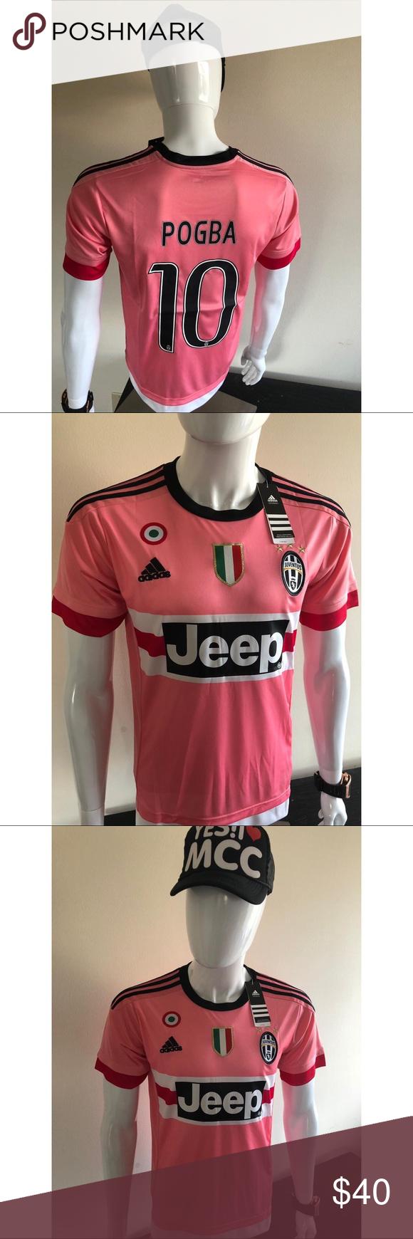 reputable site 14f71 f5e70 Pogba Pink Juventus Brand new juventus Jersey Pogba #10 ...