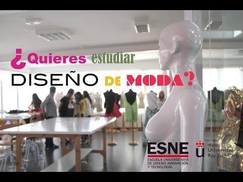 ¿Te gustaría estudiar diseño de moda y no sabes dónde? #descubreESNE - YouTube