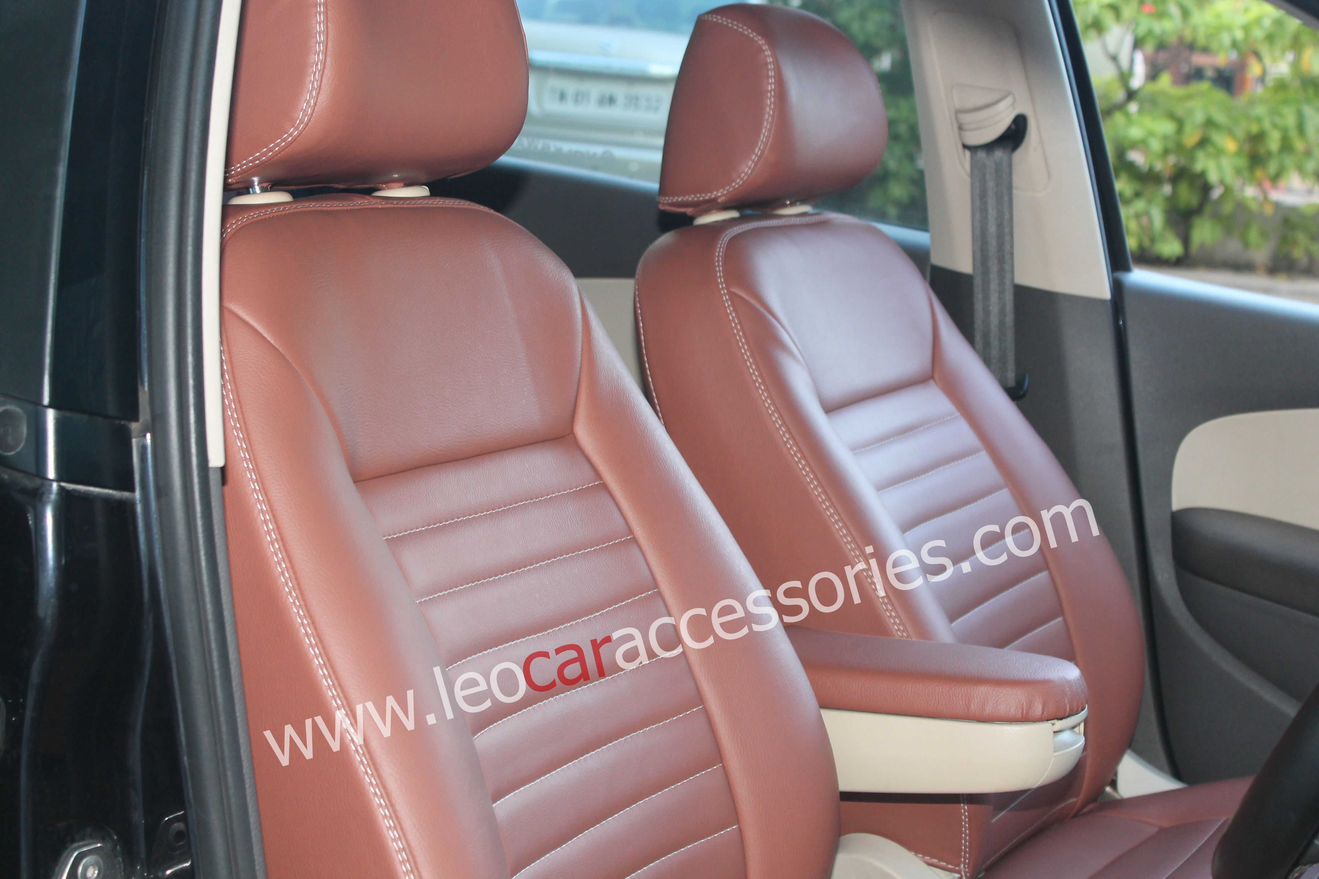 Hyundai Creta Customized Car Seat Cover From FEATHER At LEO Accessories