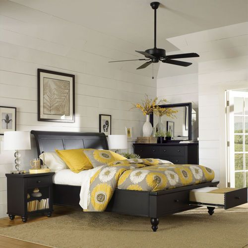Ashfield 5 Piece King Storage Bedroom Set